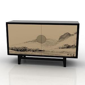 装饰柜3d模型