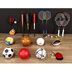 体育球类3D模型3d模型