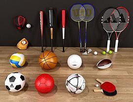 体育球类模型