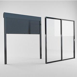 百叶窗3d模型