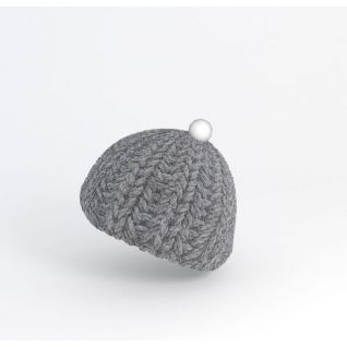针织帽子3d模型