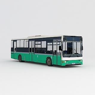 公交车3d模型