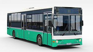 3d公交<font class='myIsRed'>车</font>模型