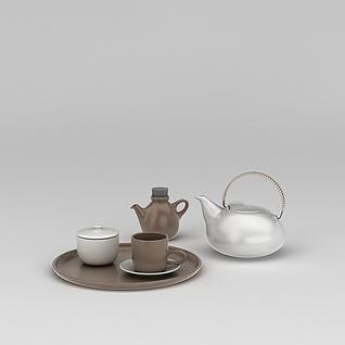 茶具3d模型