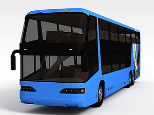 3d雙層<font class='myIsRed'>公交車</font>模型