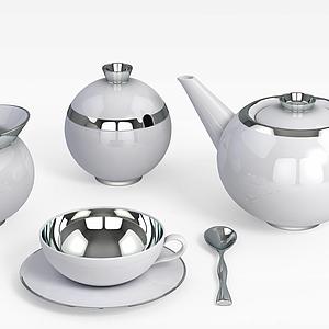 精品茶具模型