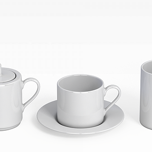 陶瓷茶具模型