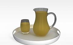 玻璃水壶模型3d模型