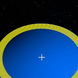 LISA激光干涉空间天线模型
