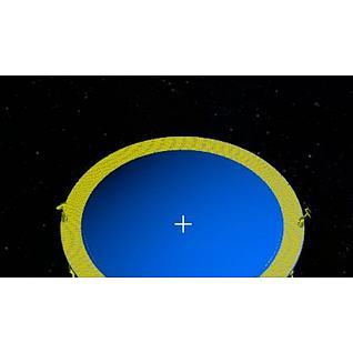 LISA激光干涉空间天线3d模型