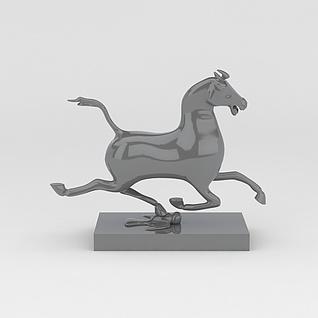 马摆件3d模型3d模型