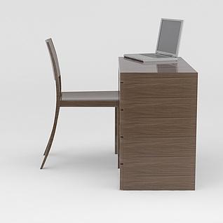 办公桌椅3d模型3d模型