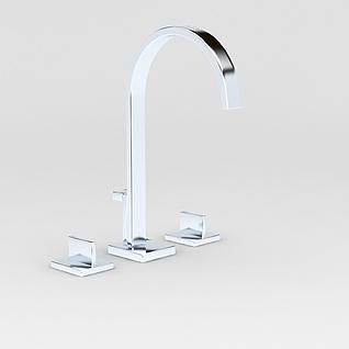 厨房水龙头3d模型