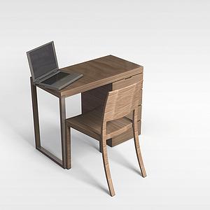 3d<font class='myIsRed'>办公桌</font>椅模型