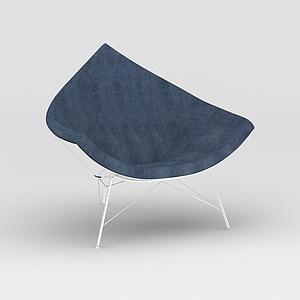 创意休闲椅模型