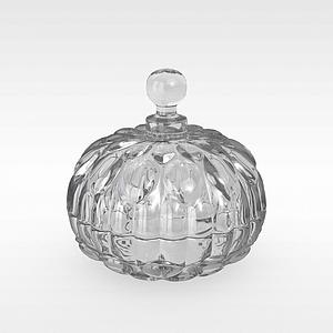玻璃洋酒瓶模型