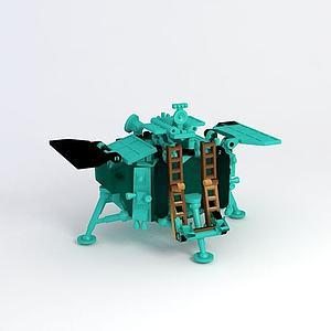 玉兔探月车模型