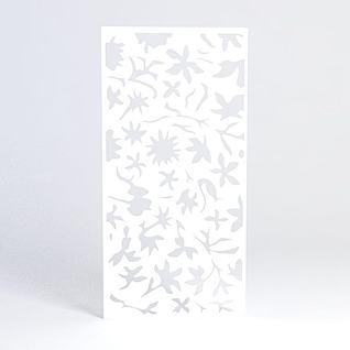 树叶形雕花隔断3d模型