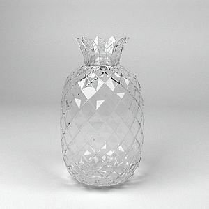 菠萝水晶瓶子模型