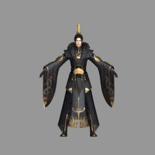 圣绣北辰3d模型