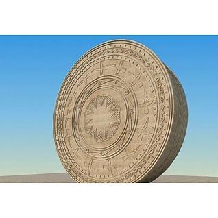 壮族铜鼓3d模型3d模型