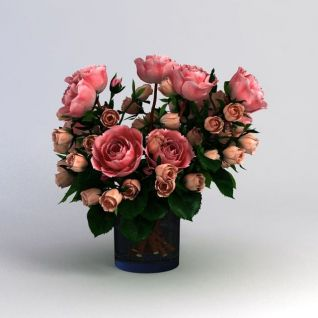 3d花卉模型