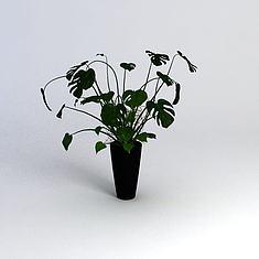 绿植3D模型3d模型