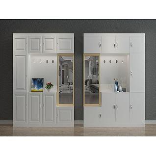 入户柜子3d模型