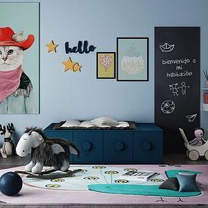 儿童玩具组合模型