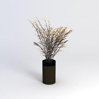 装饰植物3d模型3d模型