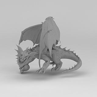飞龙兽3d模型