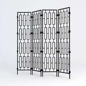 铁艺隔断模型