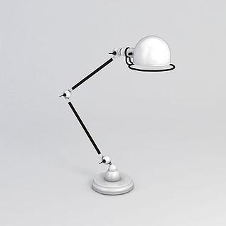 折叠台灯3d模型