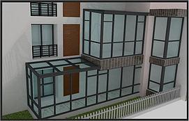 阳光房窗户模型
