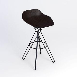 现代简约吧椅3d模型