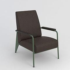 现代简约单人椅模型3d模型