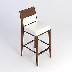 简约吧椅3D模型3d模型