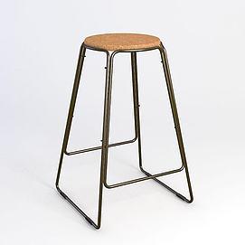 现代吧椅模型