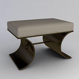 搁脚凳子模型