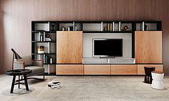 新中式电视柜组合模型3d模型