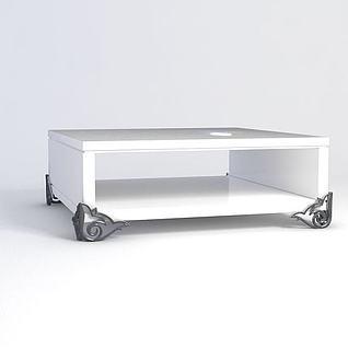 茶几柜3d模型