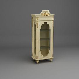 欧式酒柜模型