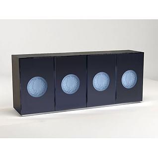 电视柜3d模型
