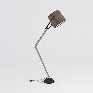 现代简约落地灯3d模型