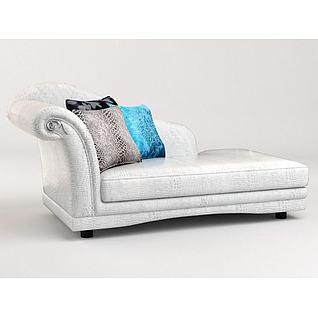 贵妃椅3d模型