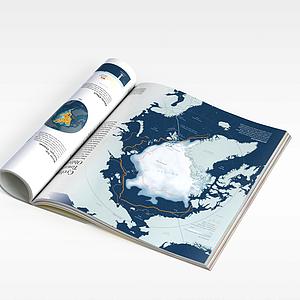 地理书模型