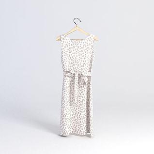 连衣裙3d模型