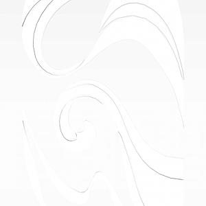 花纹隔断模型