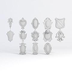 雕花模型3d模型