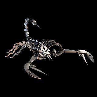 机械蝎子3d模型